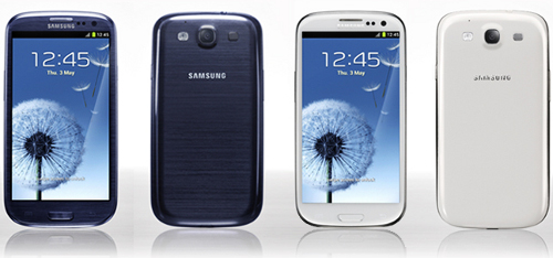 Samsung Galaxy S3 Orange