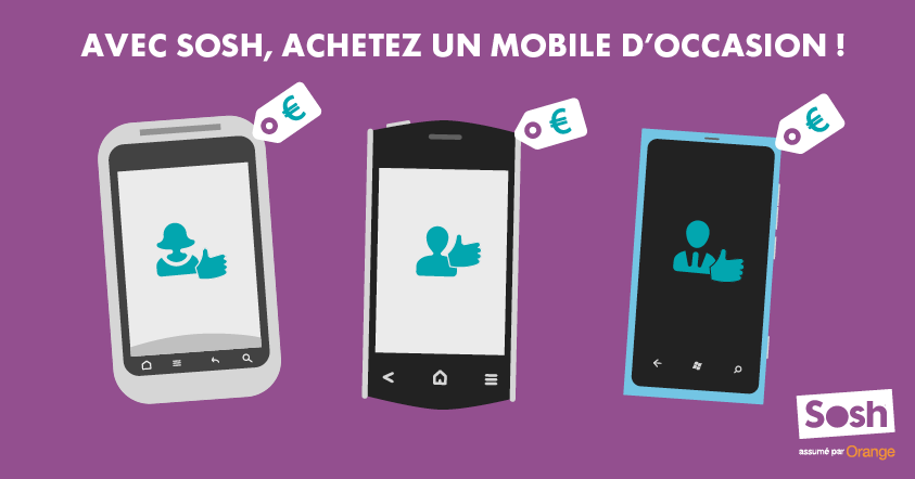Sosh mobiles d'occasion