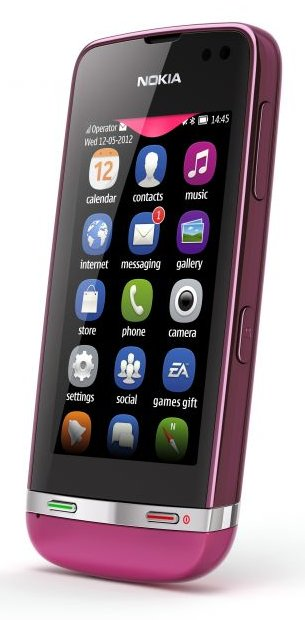 Le Nokia Asha 311 rose chez Virgin Mobile